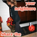 "Share the Halloween Spirit by ""Boo-ing"" Your Neighbors"