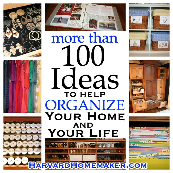 Organize Home and Life Tips FINAL
