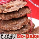 Easy No-Bake Chocolate Cookies