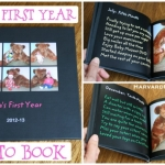 Baby's First Year Photo Book:  A Special First Birthday Gift for Your Child