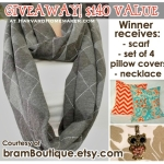 Giveaway:  $140 Value from bramBoutique!  Expired!!!