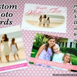Custom Photo Cards!  Who Says They're Just for Christmas?