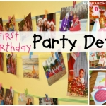 First Birthday Party Ideas, Details & Decorations