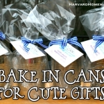 Bake in Cans for Cute Gifts