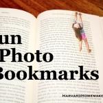Fun Photo Bookmarks:  Kids Hanging On