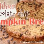 Healthier Chocolate Chip Pumpkin Bread (So Good!)