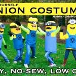 Easy No-Sew DIY Minion Costumes