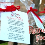 Reindeer Food:  Perfect Class Project or Party Favor