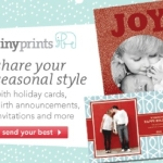 Tiny Prints $50 Gift Certificate Giveaway–EXPIRED!  Winner:  h35champ!
