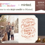 Win $150 to Spend at Minted!  Giveaway EXPIRED!