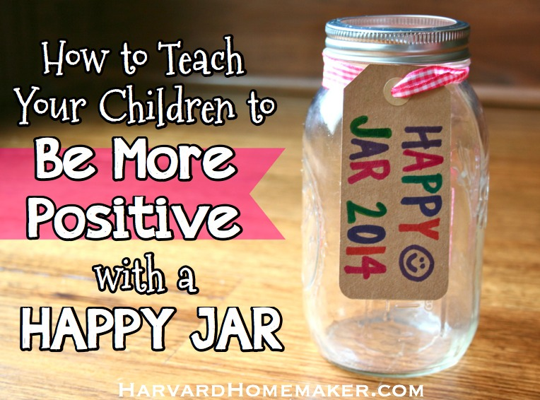 Happy Jar Be More Positive