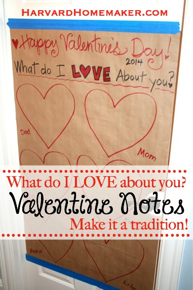 Valentine Notes_Make it a Tradition