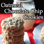World's Best Soft & Chewy Oatmeal Chocolate Chip Cookies